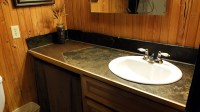 Custom Bathroom Countertop