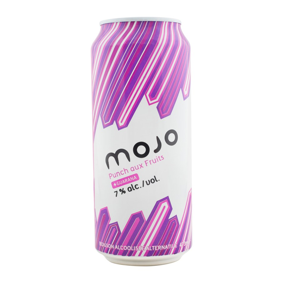MOJO Punch aux Fruits cannette