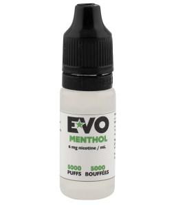 EVO E-liquide Menthol