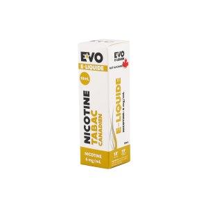 EVO E-liquide Tabac canadien