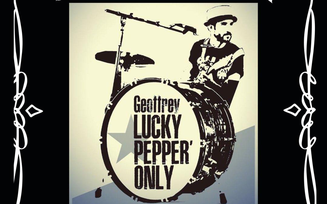 Geoffrey Lucky Pepper, le 24 février à Queyssac
