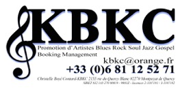 KBKC - Promotion d'artistes Blues Rock Soul Jazz Gospel