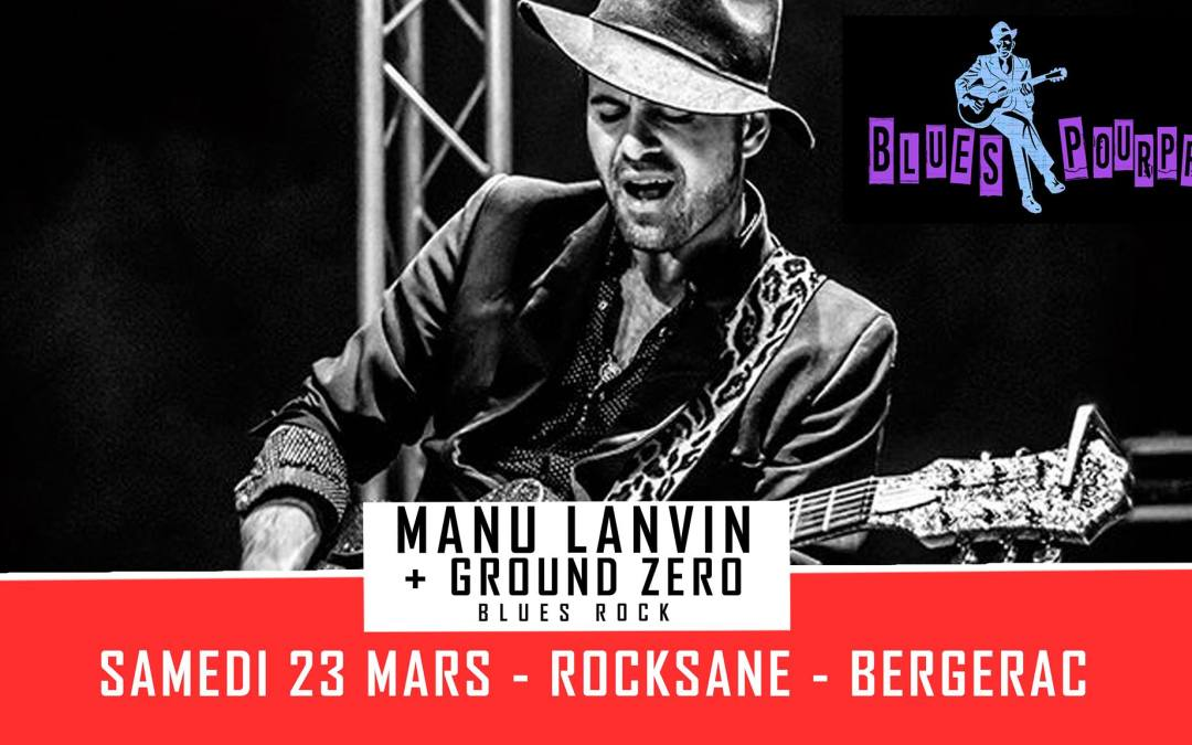 Concert Manu Lanvin
