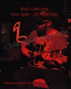 Sean Apple of the All Night Long band