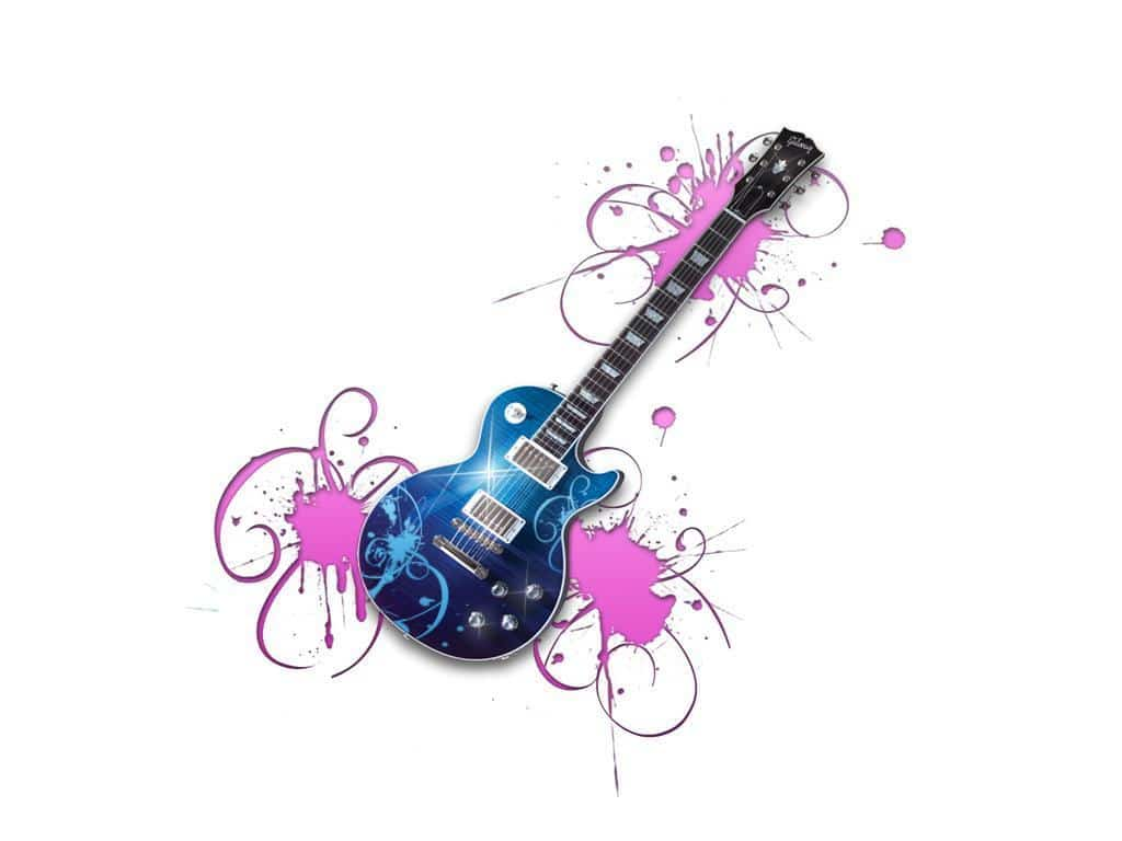 Country Guitar Background Animated Wallpaper