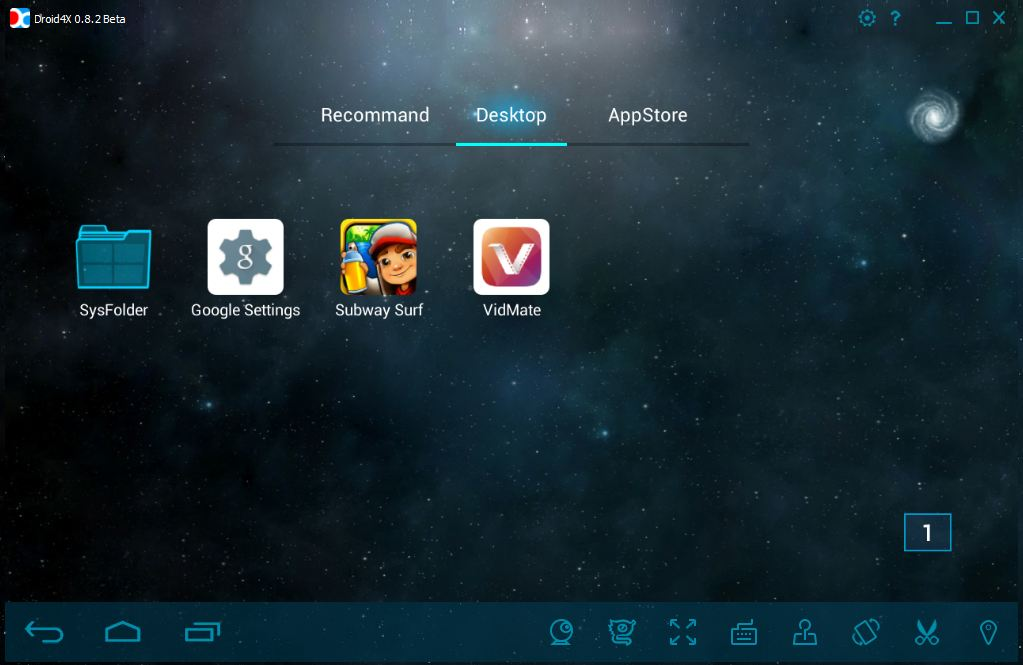 Droid4x Android Emulator for PC