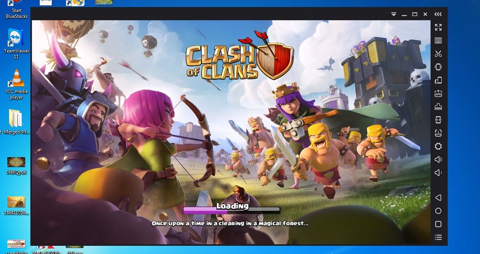 Clash of Clans on PC ApowerMirror
