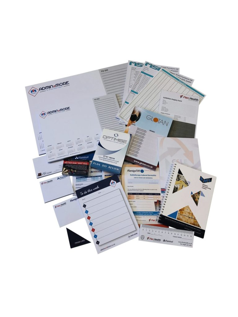 Printed Deskpads and Notepads