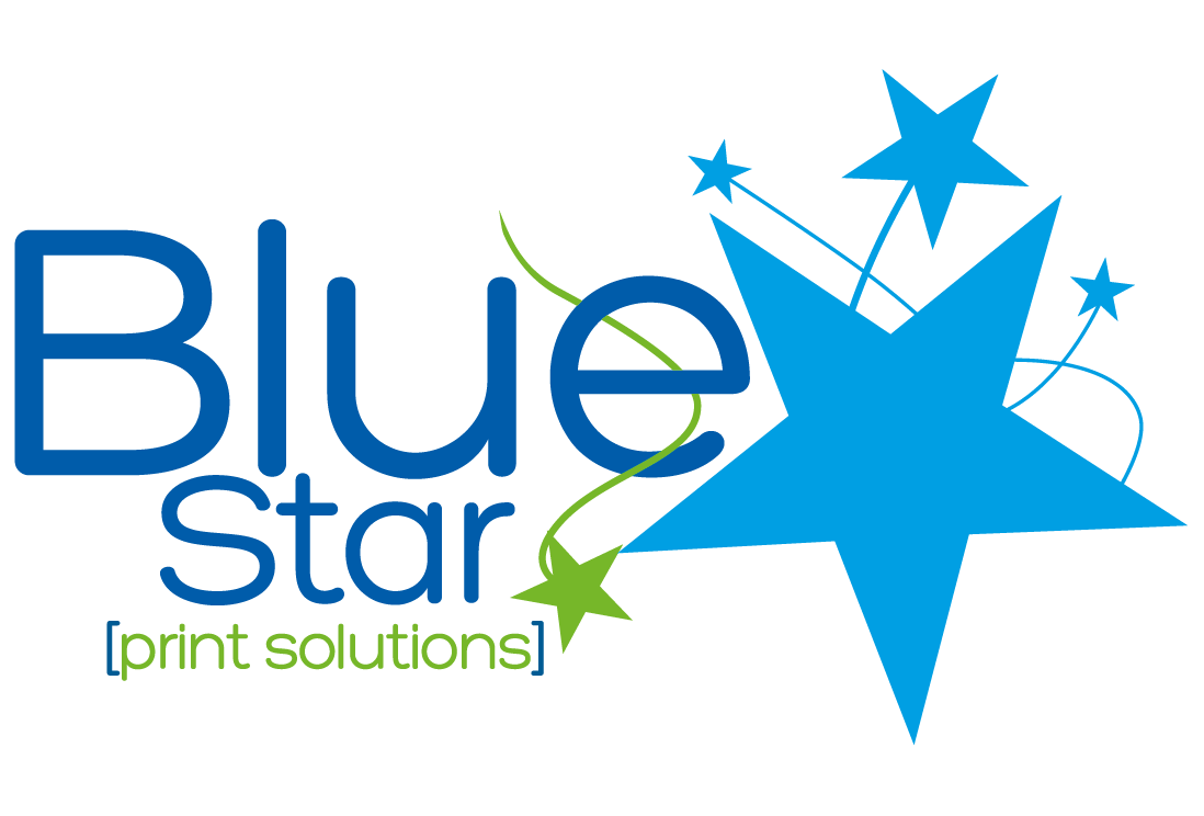 Blue Star Print Solutions Logo