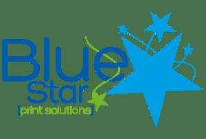 Blue Star Print Solutions Logo