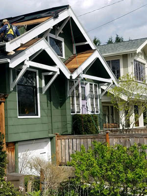 residential roofing company serving Bellevue, Redmond, Kirkland, Woodinville and Issaquah