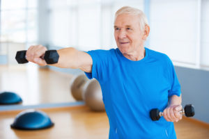 Avoiding Caregiver Self-Neglect | BlueStar SeniorTech | Get Exercise