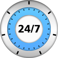 24/7 monitoring, customer service, best in class