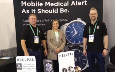 BlueStar's BellPal Watch Displayed at CES in Las Vegas!