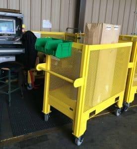 Material Cart Loaded