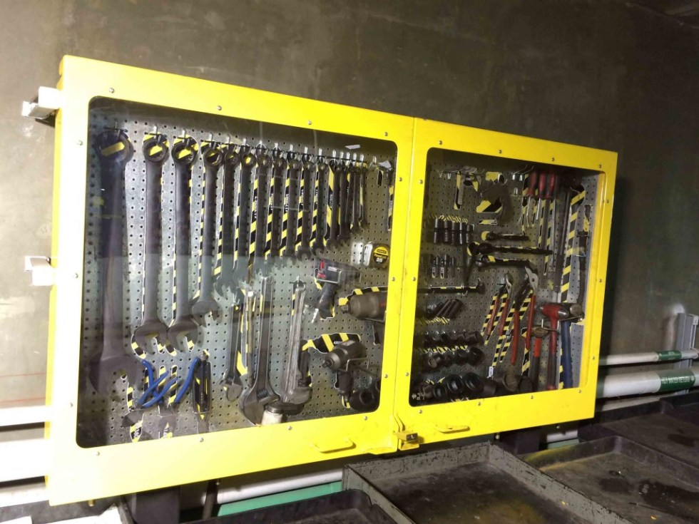 5s Tool Cabinets Pegboard Storage Shadow Board Tool