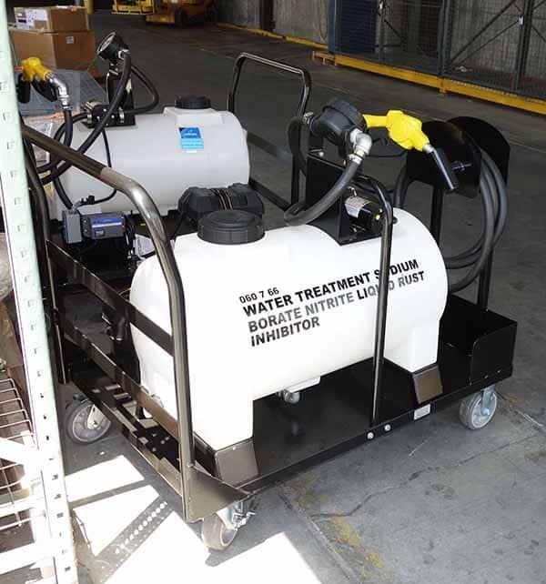 Locomotive Diesel Shop Rust Inhibitor Cart