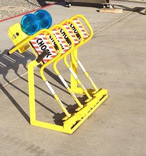 Wheel Chock Stand