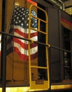 Locomotive Safety handrail