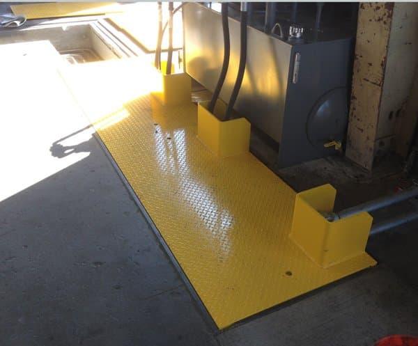 "3/4"" Steel Floor Plate"