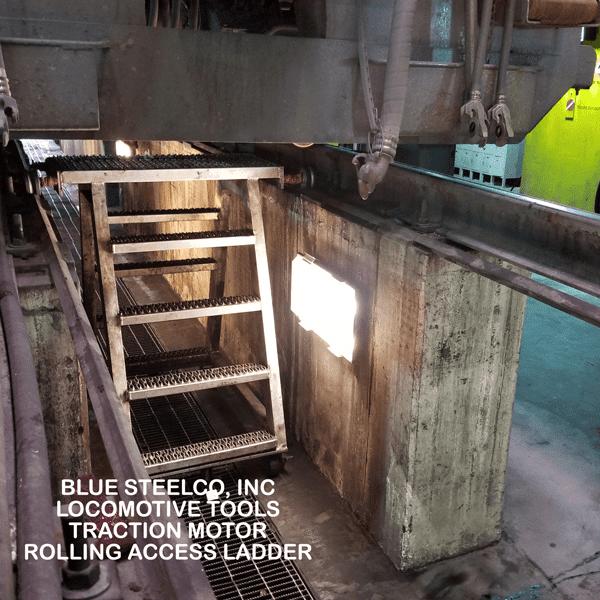 Locomotive Traction Motor Work Stand