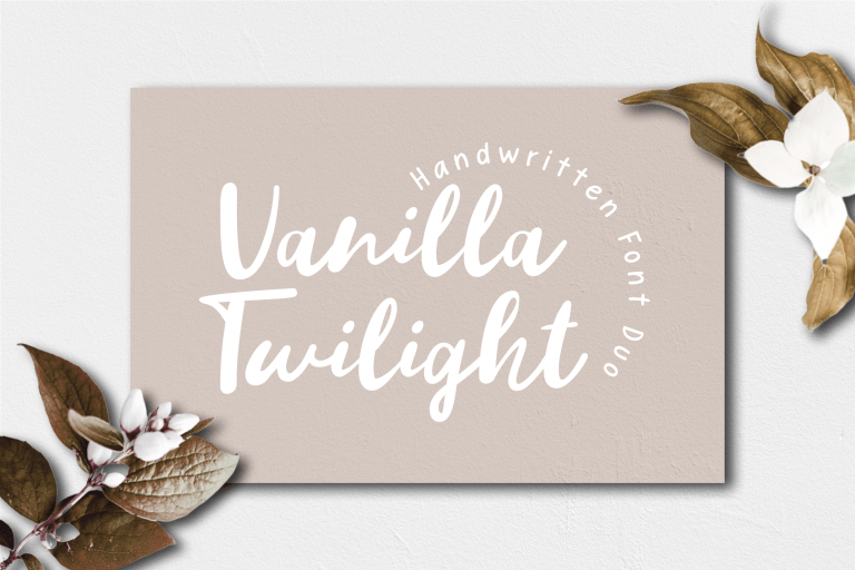 Vanilla Twilight Handwritten Duo