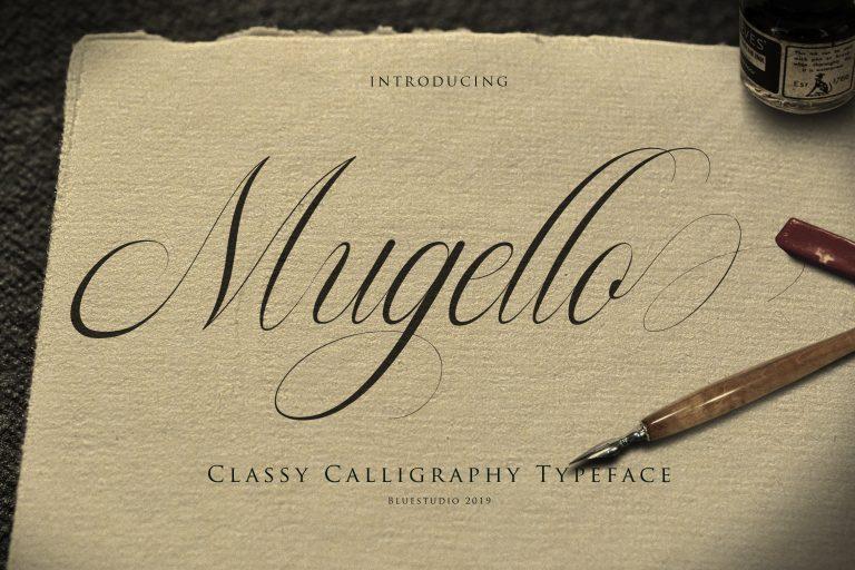 Mugello Classy Calligraphy