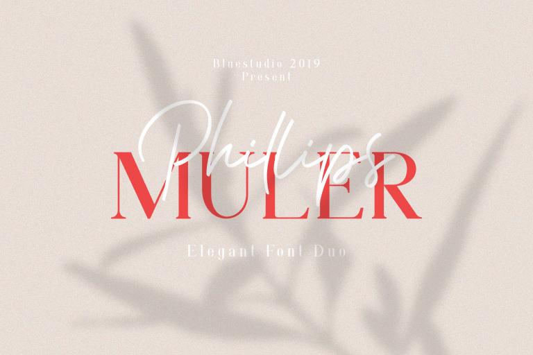 Phillips Muler Elegant Font Duo