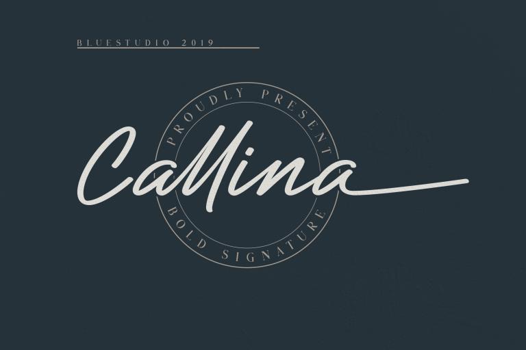 Callina Bold Signature
