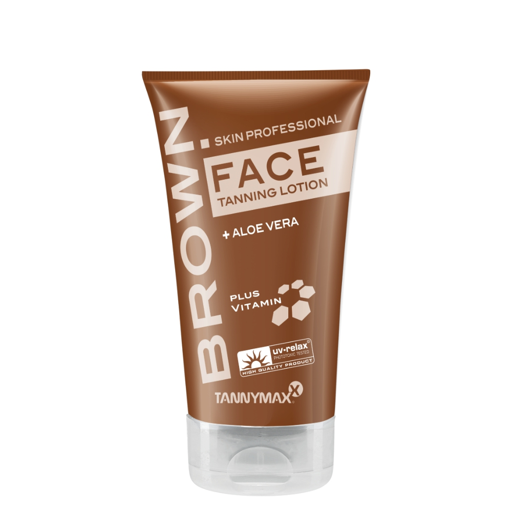 Tannymaxx Brown Face Tanning Lotion | Blue Tanning & Beauty