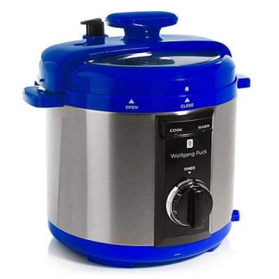 Wolfgang Puck Automatic 8-Quart Rapid Pressure Cooker Blue