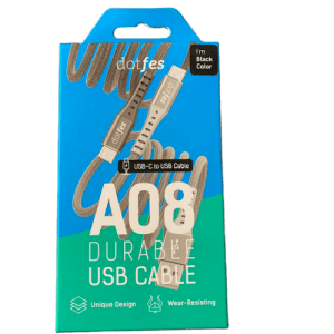 dotfes_A08_usb_to_Type-C_Cable