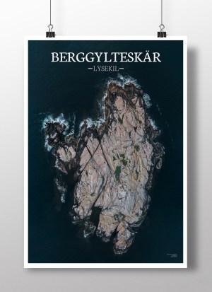 Poster av holmen Berggylteskär