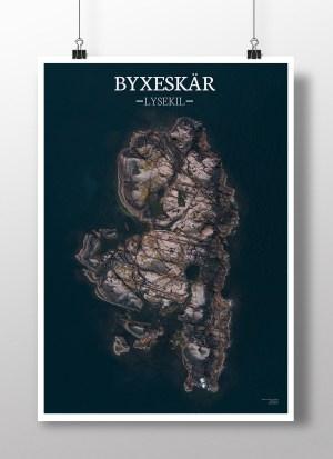 Poster av holmen Byxeskär