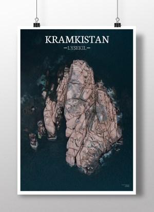 Poster av holmen Kramkistan