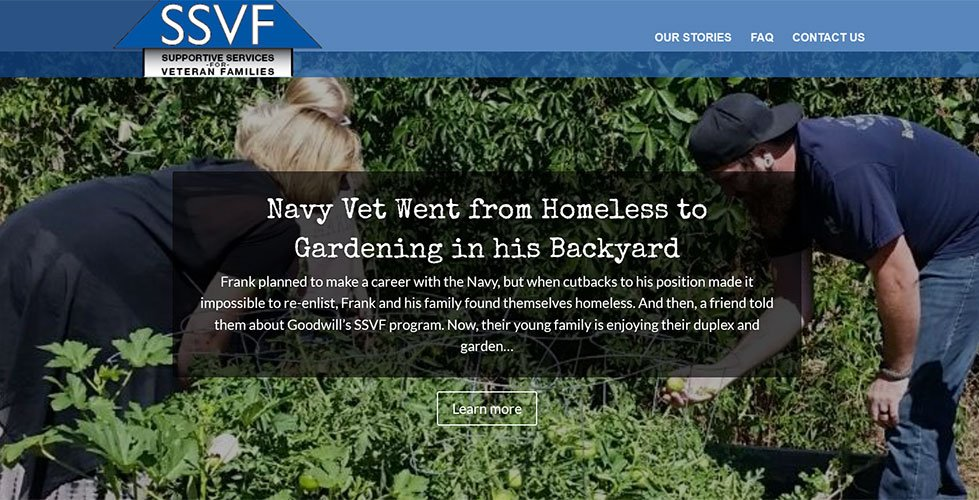 veteran who went from homeless to gardening