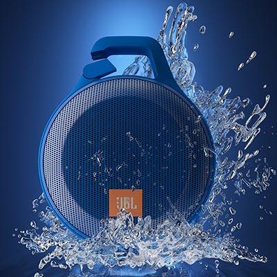 Clip-On Bluetooth Speaker