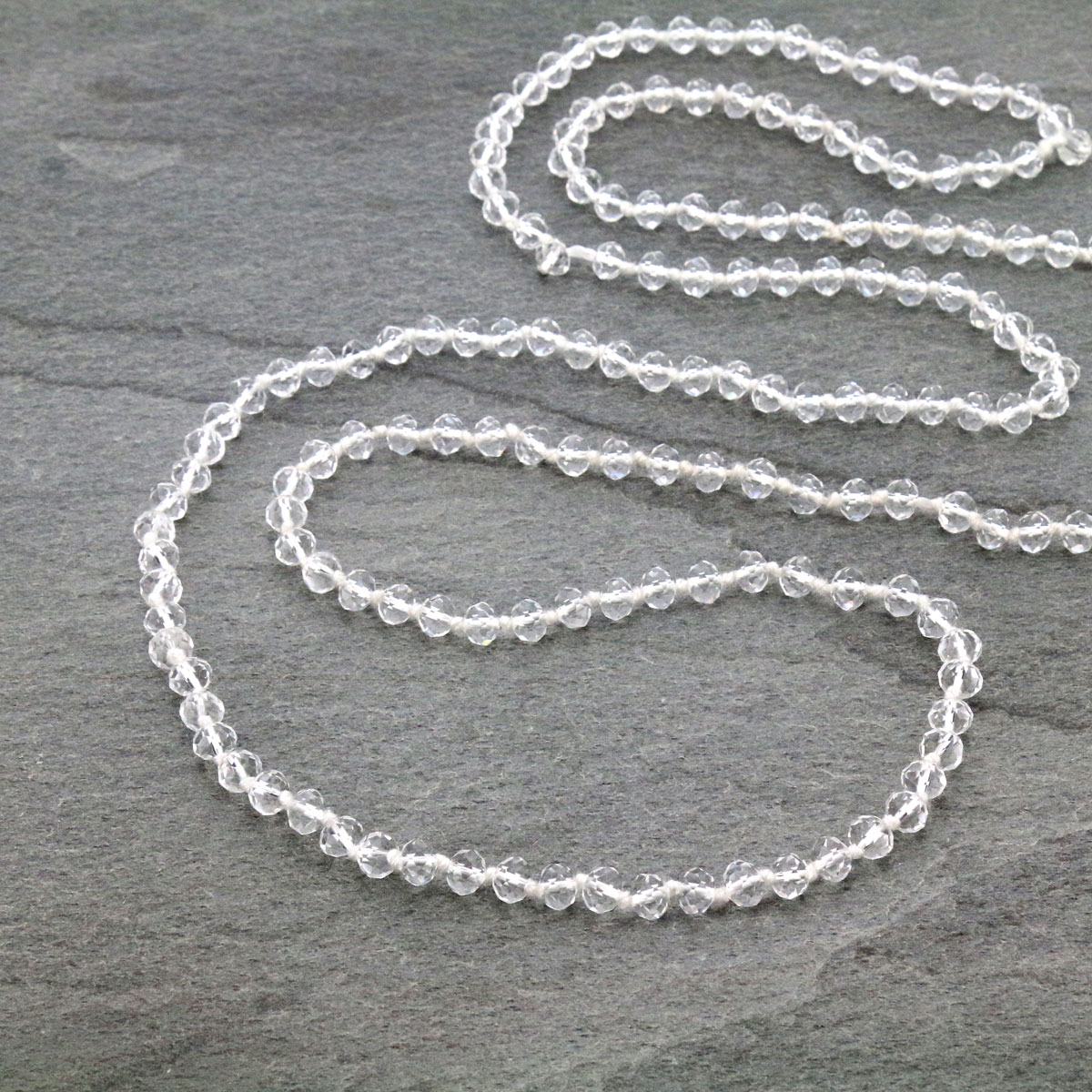 "60"" Endless Crystal Bead Necklace-ST-0064/CL(1)"