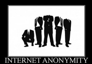 Anonymat sur le Net