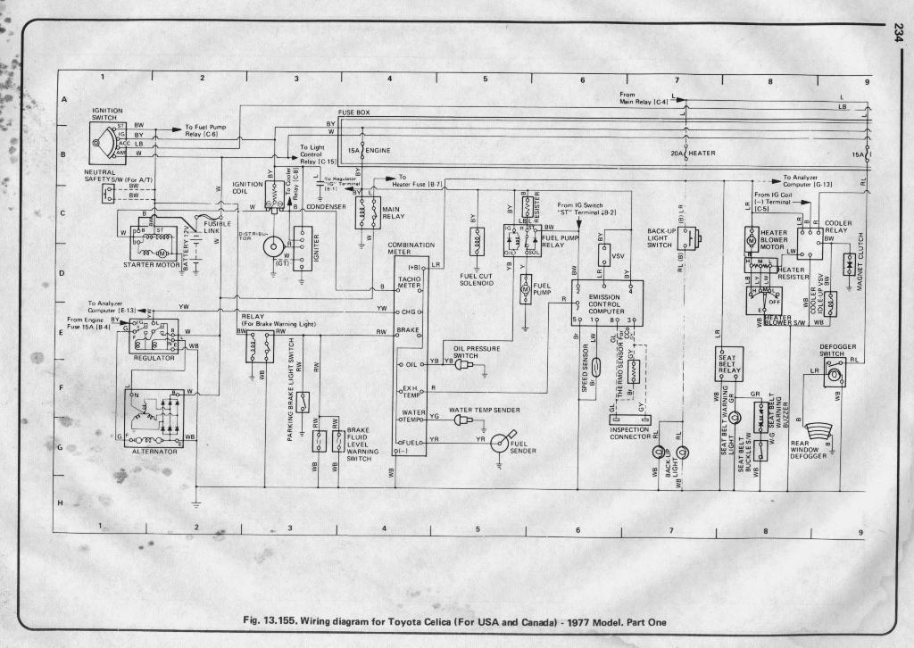200toyota celica engine diagram