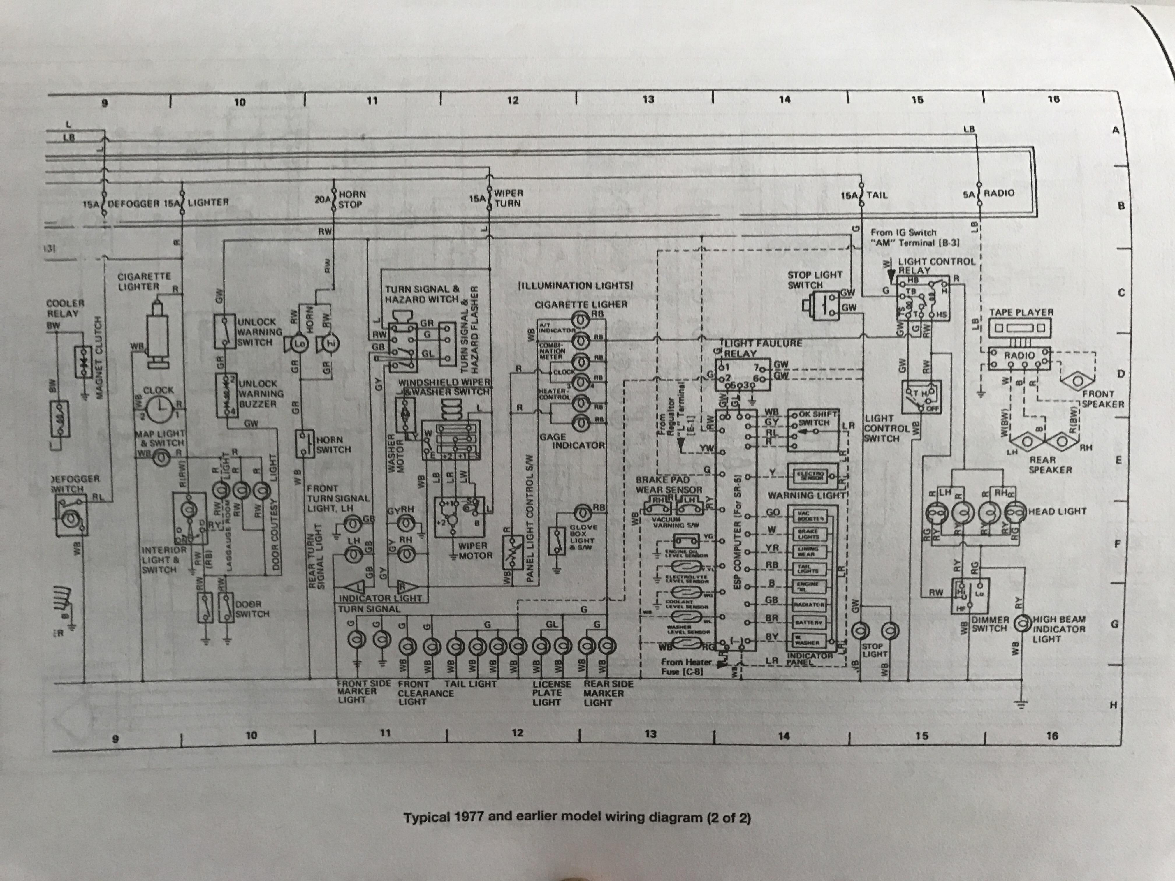 appradio 2 wiring diagram new era relay for spotlights tech docs bluetwentyeight ra28 celica restoration