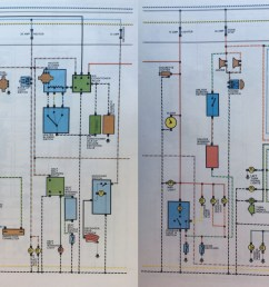 celica wiring colour jpg another wiring diagram specifically for the 1977 celica showing wire [ 5052 x 1613 Pixel ]