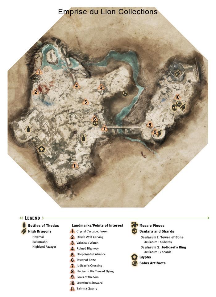 Dai Map To A Waterfall : waterfall, Hinterlands, Dragon