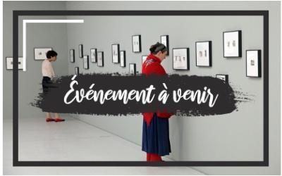 Invitation au vernissage - exposition collective d'art