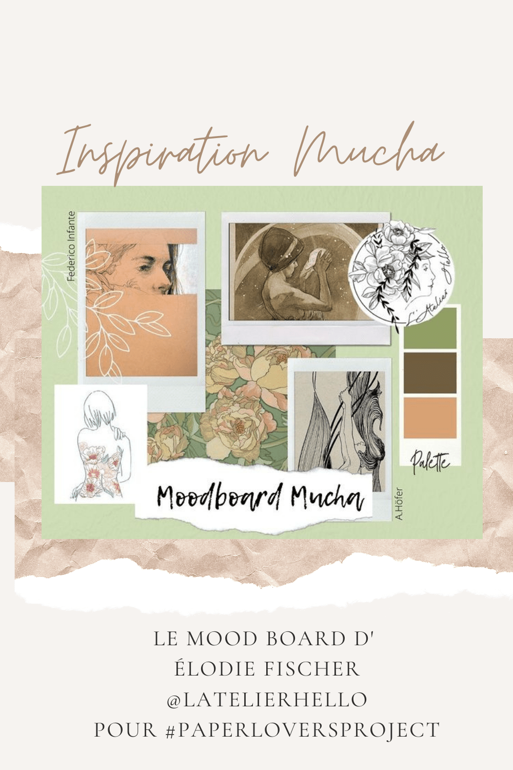 Mood Board Mucha-Paper Lovers Project
