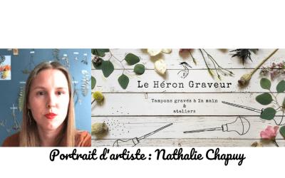 """Portrait de créatrice : Nathalie de """"Le héron graveur"""""""