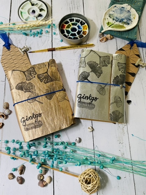 Carnet de voyage Ginkgo Traveler