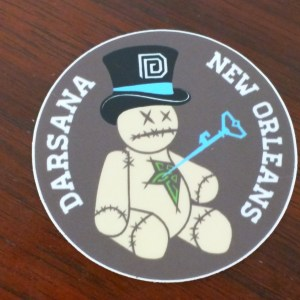 Darsana New Orleans Sticker