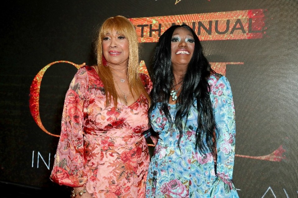 """The song """"Fairytale,"""" co-written by Bonnie Pointer (R, pictured April 2019) and her sister Anita (L), won a Grammy in 1975 for Best Country Duo or Group - Leon Bennett / ©AFP"""