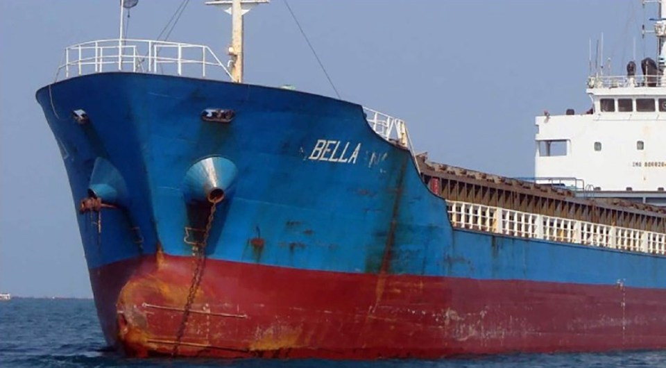 An oil tanker destined from Iran to Venezuela that was seized by the United States is seen in this August 2020 picture - - / ©AFP